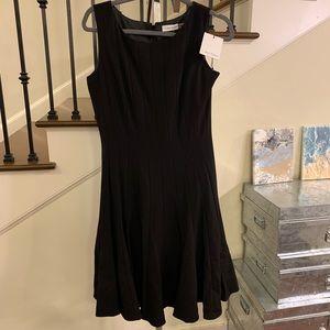 New Calvin Klein Little Black Swing dress